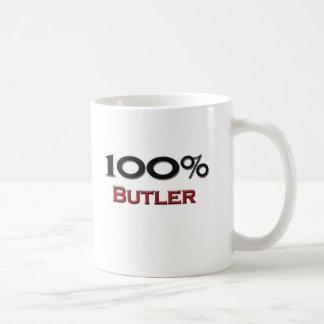 100 Percent Butler Coffee Mug