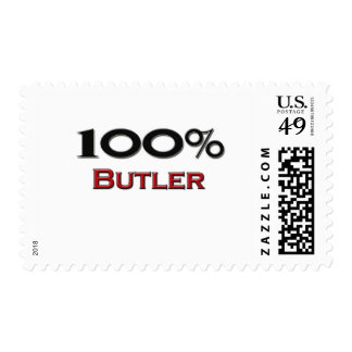 100 Percent Butler Postage Stamps