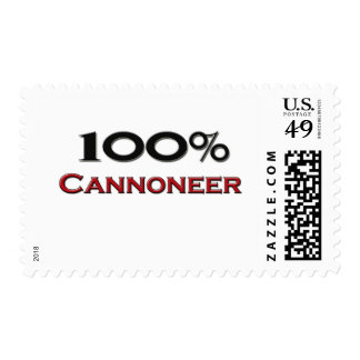 100 Percent Cannoneer Stamps
