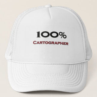100 Percent Cartographer Trucker Hat