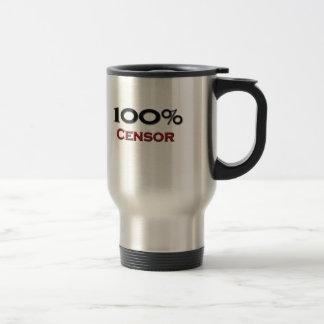100 Percent Censor Coffee Mug