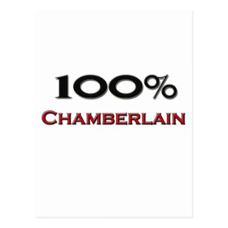 100 Percent Chamberlain Postcard