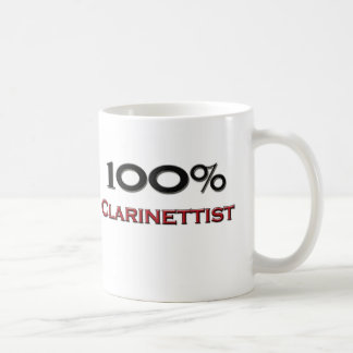 100 Percent Clarinettist Coffee Mug