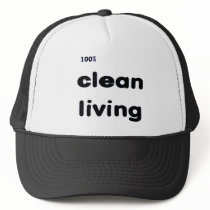 100 Percent Clean Living Cap