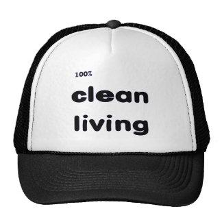 100 Percent Clean Living Cap Trucker Hat