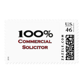 100 Percent Commercial Solicitor Postage