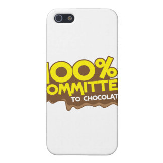 100 percent commmited to chocolate iPhone SE/5/5s case