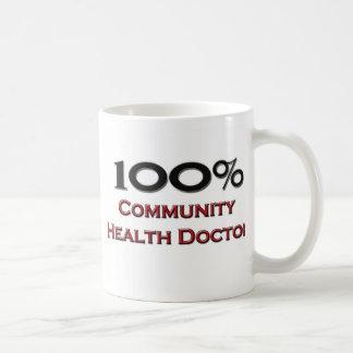 100 Percent Community Health Doctor Classic White Coffee Mug