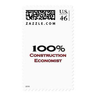 100 Percent Construction Economist Stamps