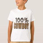 100 Percent Cowboy T-Shirt