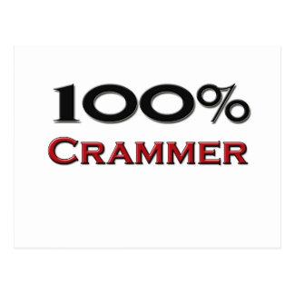 100 Percent Crammer Post Cards