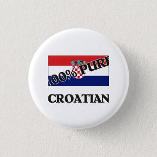 100 Percent CROATIAN Button