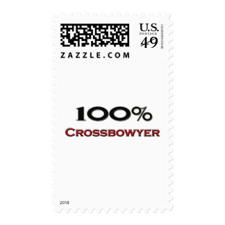 100 Percent Crossbowyer Postage