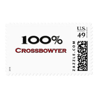 100 Percent Crossbowyer Stamps