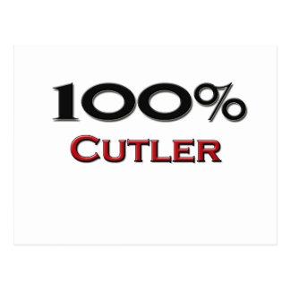 100 Percent Cutler Postcard