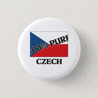 100 Percent CZECH Pinback Button
