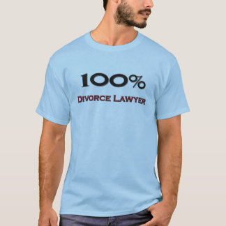 100 Percent Divorce Lawyer T-Shirt