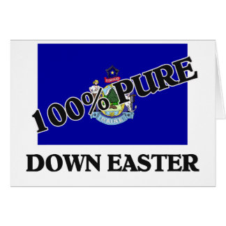 100 Percent Down Easter Greeting Card