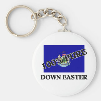 100 Percent Down Easter Key Chains