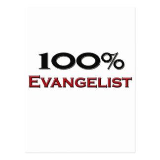 100 Percent Evangelist Postcard
