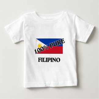 100 Percent FILIPINO Baby T-Shirt