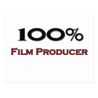 100 Percent Film Producer Postcard