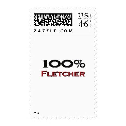 100 Percent Fletcher Postage Stamp
