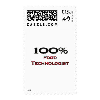 100 Percent Food Technologist Stamps