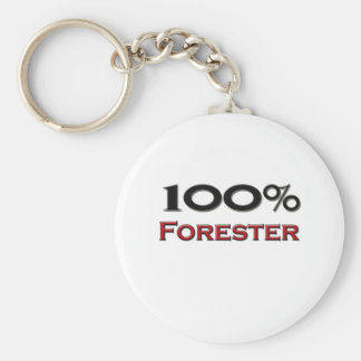 100 Percent Forester Keychain