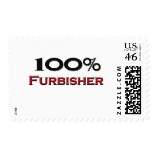 100 Percent Furbisher Stamp