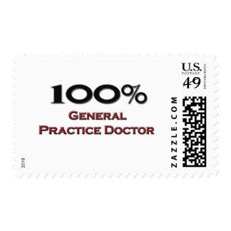 100 Percent General Practice Doctor Postage Stamp
