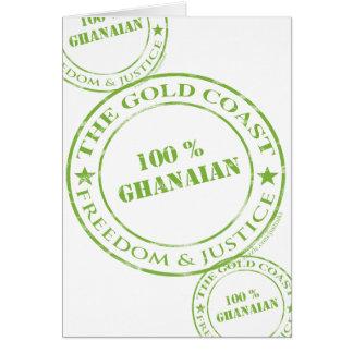 100 percent ghanaian apple card