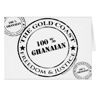 100 percent ghanaian card