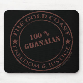 100 percent ghanaian chocolate mouse pad