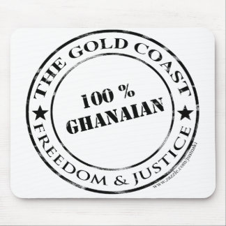 100 percent ghanaian mouse pad