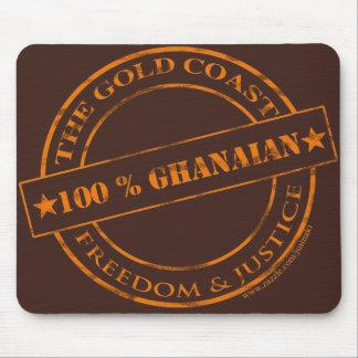 100 percent ghanaian orange mouse pad