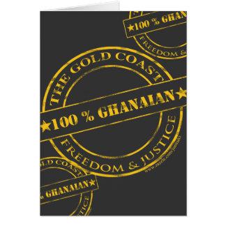 100 percent ghanaian yellow card