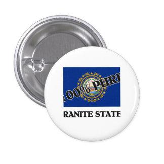 100 Percent Granite Stater Pin
