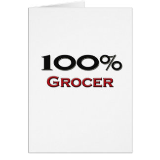 100 Percent Grocer Cards