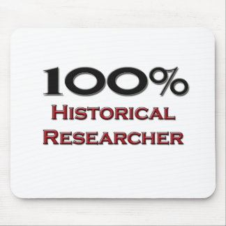 100 Percent Historical Researcher Mousepads