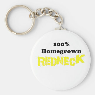 100 Percent Homegrown Redneck Keychains