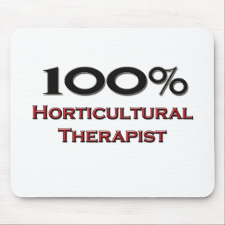 100 Percent Horticultural Therapist Mousepads