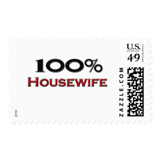 100 Percent Housewife Postage Stamp