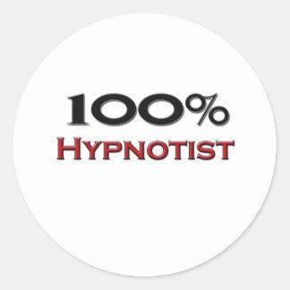 100 Percent Hypnotist Sticker