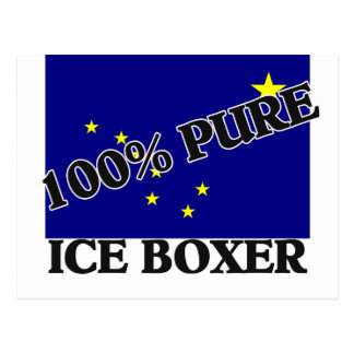100 Percent Ice Boxer Postcard