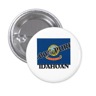 100 Percent Idahoan Pin