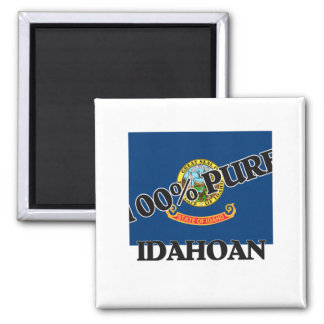 100 Percent Idahoan Fridge Magnet