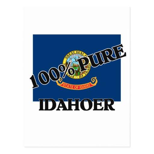 100 Percent Idahoer Post Card