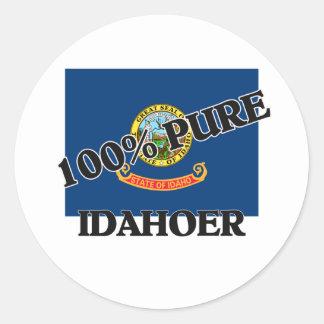 100 Percent Idahoer Stickers