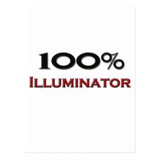 100 Percent Illuminator Post Card
